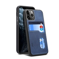 iphone 11 Pro Max Leather phone case with card slot