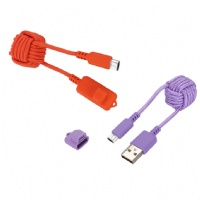 Chinese Knot Micro USB Cable High Speed Data and Charging, Nylon Braided