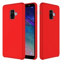 Silicone like gel case cover for  samsung A6 2018