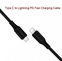 Type C to Lightning PD fast charging cable for iPhone 8 x IOS12 system